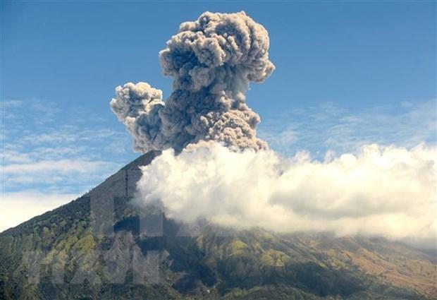 Entra nuevamente en erupcion volcan Agung de Indonesia hinh anh 1