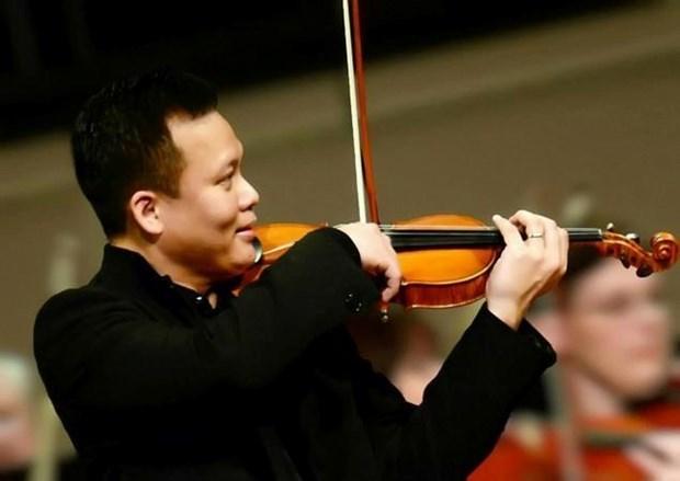Presentaran en Ciudad Ho Chi Minh sinfonias internacionales de Mendelssohn, Bruch y Brahms hinh anh 1