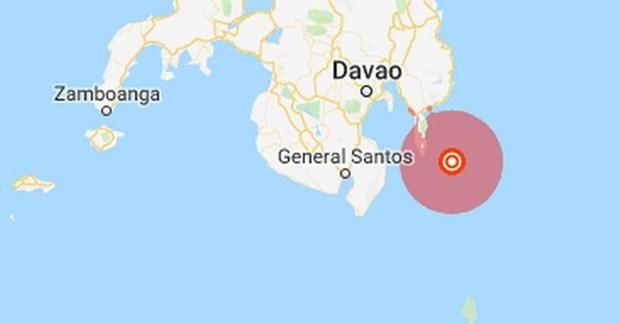 Sismo de magnitud de 6,2 grados sacudio el Sur de Filipinas hinh anh 1