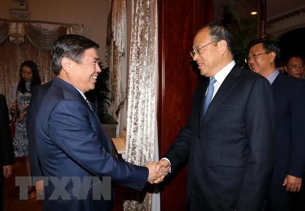 Impulsan cooperaciones entre localidades vietnamita y china hinh anh 1