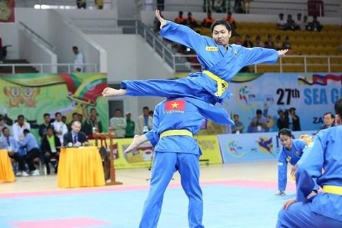 Celebran Copa mundial de arte marcial de Vietnam en Marsella hinh anh 1