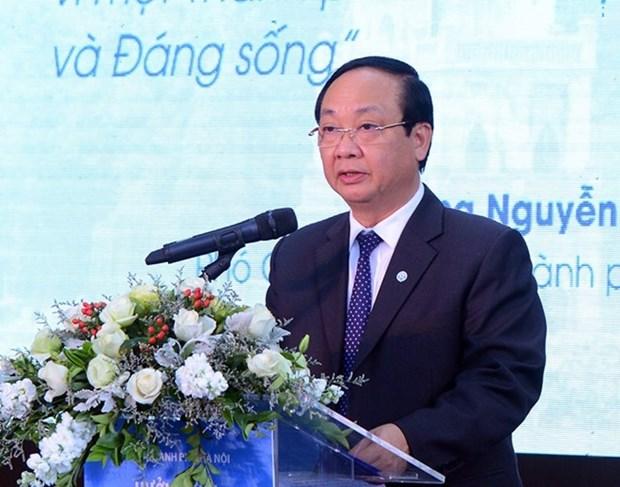 Une Hanoi a la campana internacional de mejoria de calidad de aire hinh anh 1