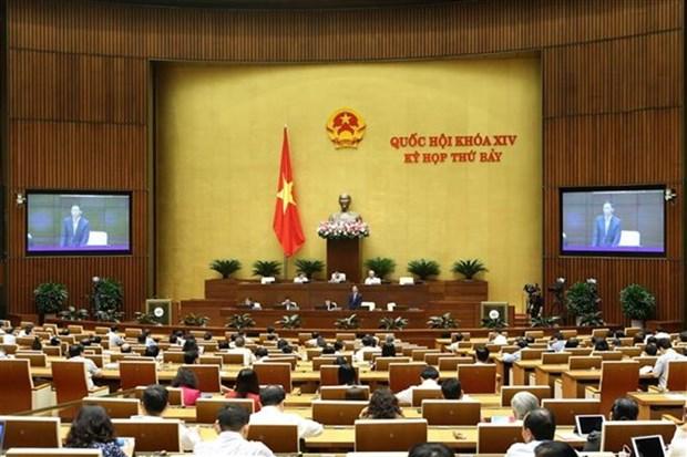 Compareceran ministros vietnamitas ante el Parlamento hinh anh 1