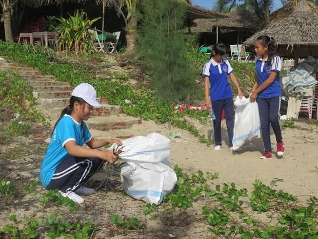 Ciudad centrovietnamita activa por proteger medio ambiente hinh anh 1
