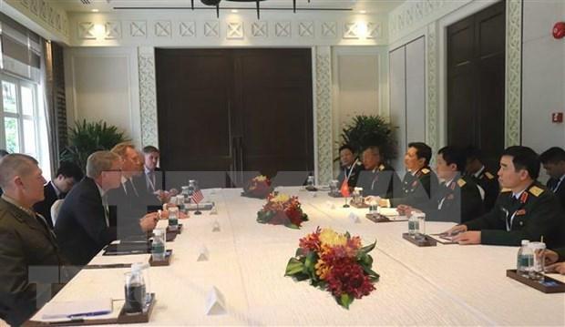 Nutrida agenda de delegacion vietnamita en Dialogo de Shangri-La hinh anh 1