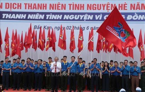 Inicio en Vietnam la Campana Jovenes Voluntarios del Verano 2019 hinh anh 1