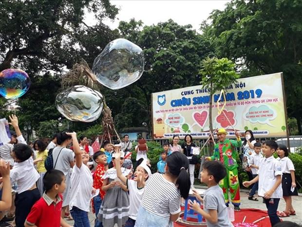 Festival infantil de Israel en Vietnam, puente de enlace cultural entre ambos paises hinh anh 1
