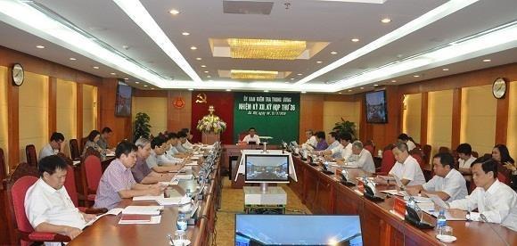 Aplica Comision Disciplinaria del Partido Comunista de Vietnam sanciones a militantes hinh anh 1