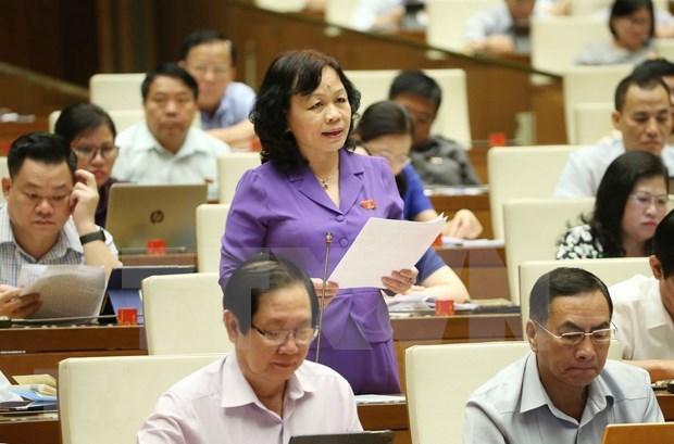 Conluye Parlamento de Vietnam oncena jornada de trabajo de su septimo periodo de sesiones hinh anh 1