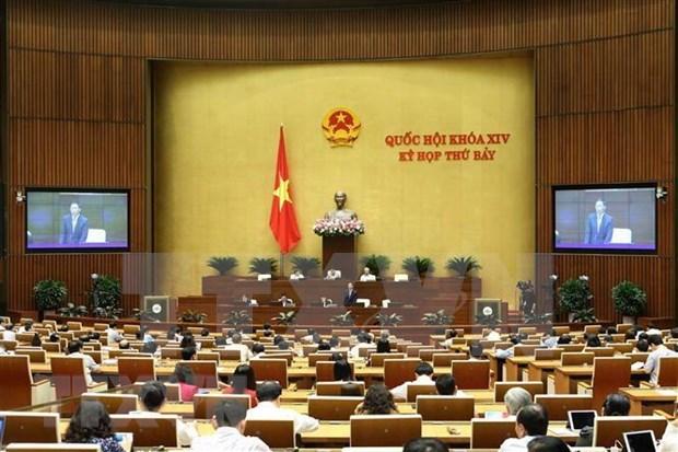 Expondran ministros vietnamitas ante el Parlamento sobre seguridad, transporte, construccion y cultura hinh anh 1
