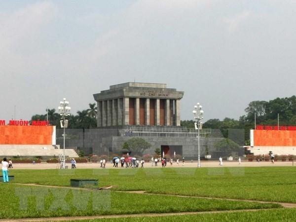 Anuncian el cierre temporal del Mausoleo de Ho Chi Minh hinh anh 1