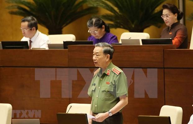 Reitera ministro vietnamita de Seguridad Publica determinacion contra el narcotrafico hinh anh 1