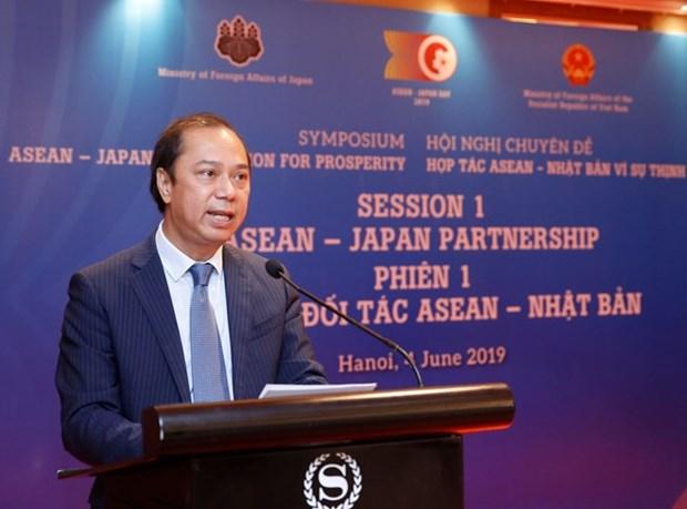 ASEAN y Japon son importantes socios, vicecanciller vietnamita hinh anh 1