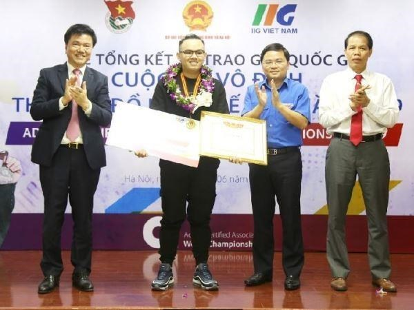 Participaran estudiantes vietnamitas en Campeonato Mundial de Diseno Grafico hinh anh 1