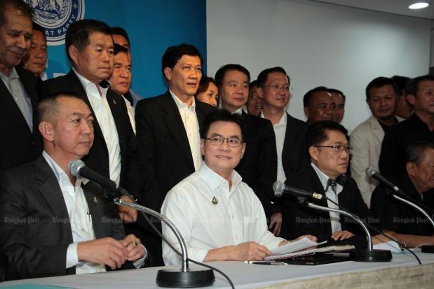 Anuncian en Tailandia coalicion entre el Partido Democrata y el Palang Pracharat hinh anh 1