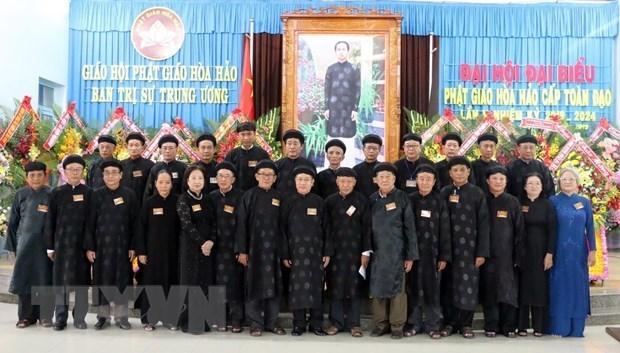 Secta budista de Hoa Hao convoca al quinto congreso nacional hinh anh 1