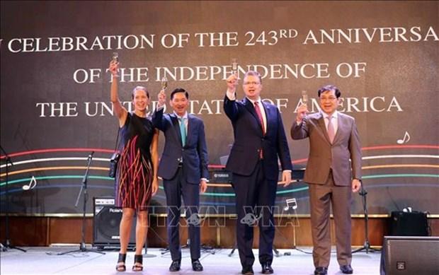 Celebran en Ciudad Ho Chi Minh el Dia de la Independencia de Estados Unidos hinh anh 1