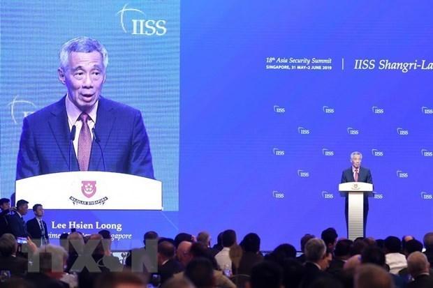 Esclarece portavoz posicion de Vietnam acerca de declaracion de premier singapurense hinh anh 1