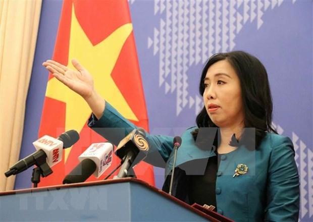Destaca vocera preparativos de Vietnam para su participacion en Consejo de Seguridad hinh anh 1