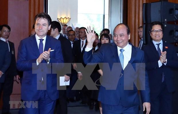Efectuan en Vietnam Dialogo sobre relaciones economicas Italia-ASEAN hinh anh 1