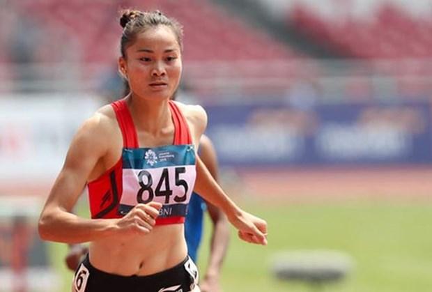 Gana deportista vietnamita oro en 400 metros durante campeonato continental de atletismo hinh anh 1