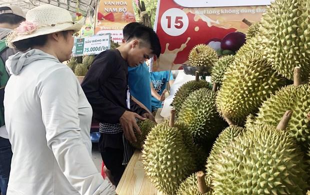 """Promueven potencialidades del """"reino de las frutas"""" en el Sur de Vietnam hinh anh 1"""