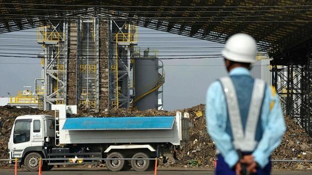 Exportara Japon a paises del Sudeste Asiatico tecnologia para produccion electrica a partir de la basura hinh anh 1