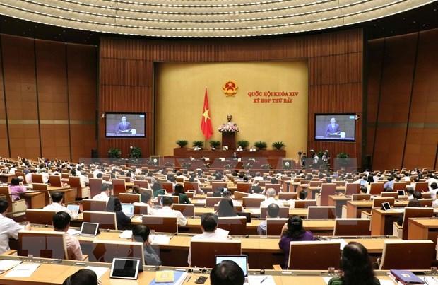 Diputados vietnamitas debaten Convenio 98 sobre derecho de sindicalizacion hinh anh 1