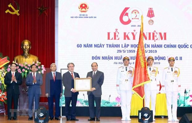 Premier vietnamita participa en ceremonia por fundacion de Academia de Administracion Publica hinh anh 1
