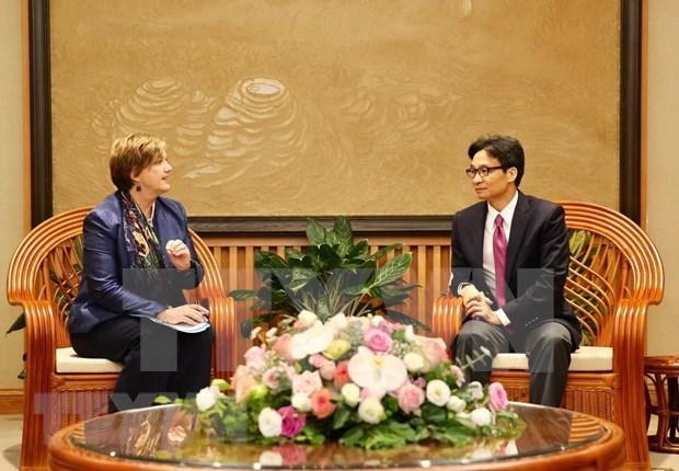 Vietnam solicita respaldo de UNICEF para mejorar capacidad en proteccion infantil hinh anh 1
