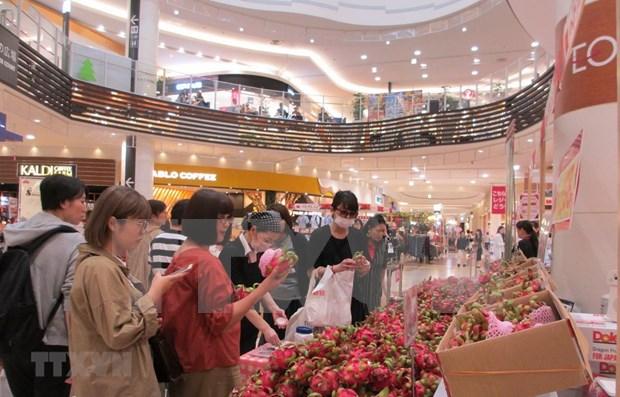 Presentan productos vietnamitas en supermercados de AEON en Japon hinh anh 1