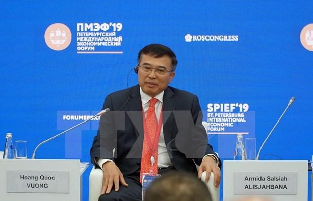 Asiste Vietnam al Dialogo de Negocios entre Union Economica Euroasiatica y ASEAN hinh anh 1