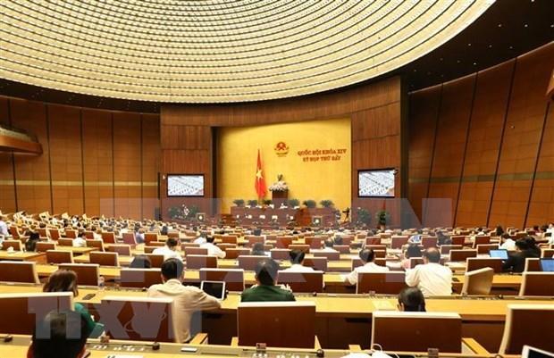 Parlamento vietnamita aprobara siete leyes y resoluciones hinh anh 1