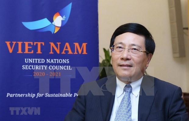Vietnam da prioridad a fortalecer el papel del multilateralismo, dice vicepremier hinh anh 1