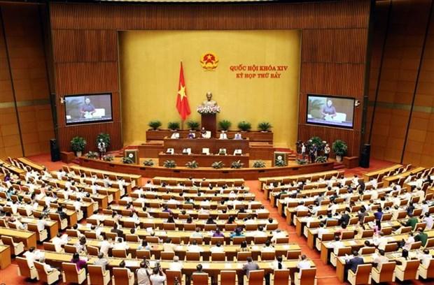 Aprobara Parlamento de Vietnam hoy dos resoluciones y discutira dos borradores legales hinh anh 1