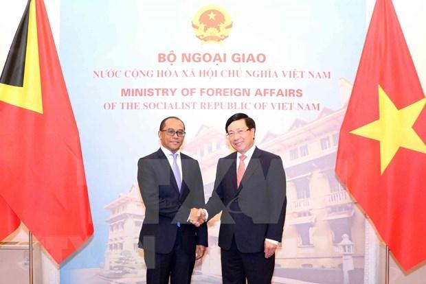 Impulsan cooperacion multifacetica entre Vietnam y Timor Leste hinh anh 1