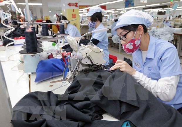 Aumenta Vietnam sus exportaciones textiles hinh anh 1