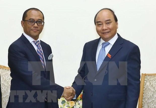 Destaca premier de Vietnam potencialidades de cooperacion con Timor Leste hinh anh 1