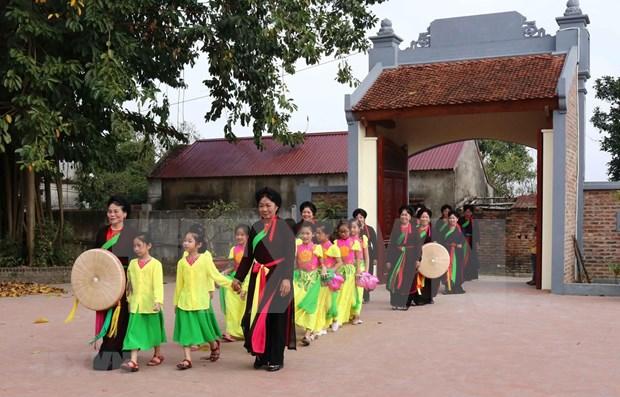 Celebraran en Vietnam Festival de Patrimonios Intangibles mundiales hinh anh 1