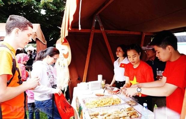 Impresiona la cultura de Vietnam en Festival Internacional en Republica Checa hinh anh 1