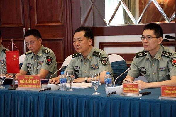 Fomentan Vietnam y China cooperacion militar hinh anh 1