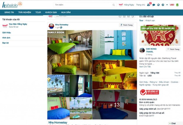 Presentan Hahalolo, primera red social turistica de Vietnam hinh anh 1