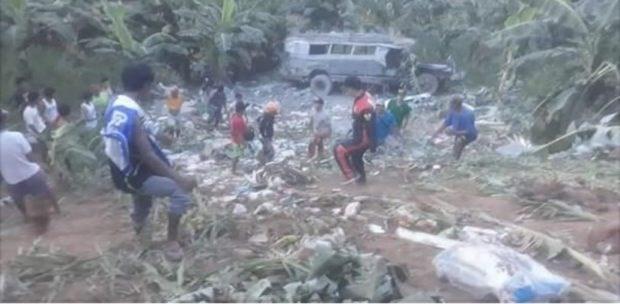 Mueren ocho personas en accidente de autobus en Filipinas hinh anh 1