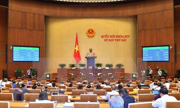 Aprobara hoy el Parlamento de Vietnam dos resoluciones hinh anh 1