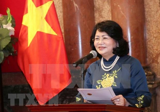 Asistira vicepresidenta de Vietnam a cumbre de construccion de confianza en Asia hinh anh 1