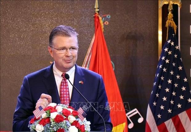 Celebran Dia de la Independencia de EE.UU. en Hanoi hinh anh 1