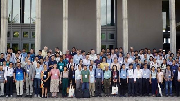 Participan 300 cientificos en Conferencia de Matematica Vietnam-EE.UU. 2019 hinh anh 1