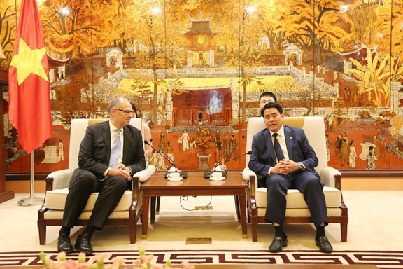 Busca Hanoi fortalecer cooperacion con Dinamarca en diversas areas hinh anh 1
