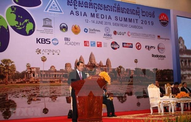 Inauguran Conferencia de Telecomunicacion de Asia en Camboya hinh anh 1