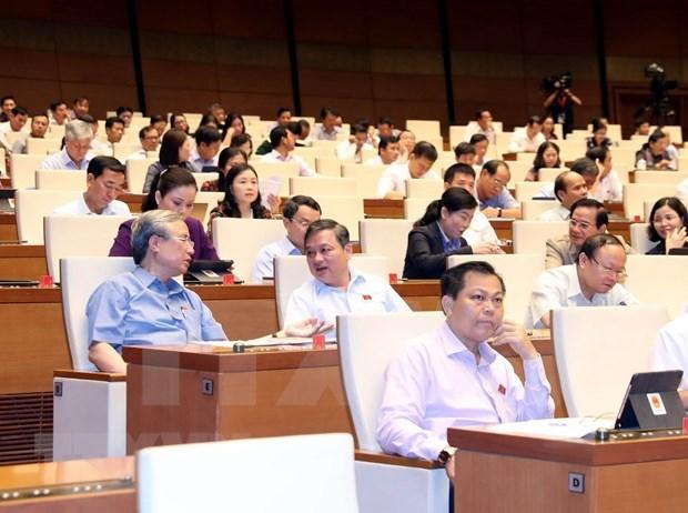 Analizara hoy Parlamento de Vietnam borrador del Codigo Laboral hinh anh 1
